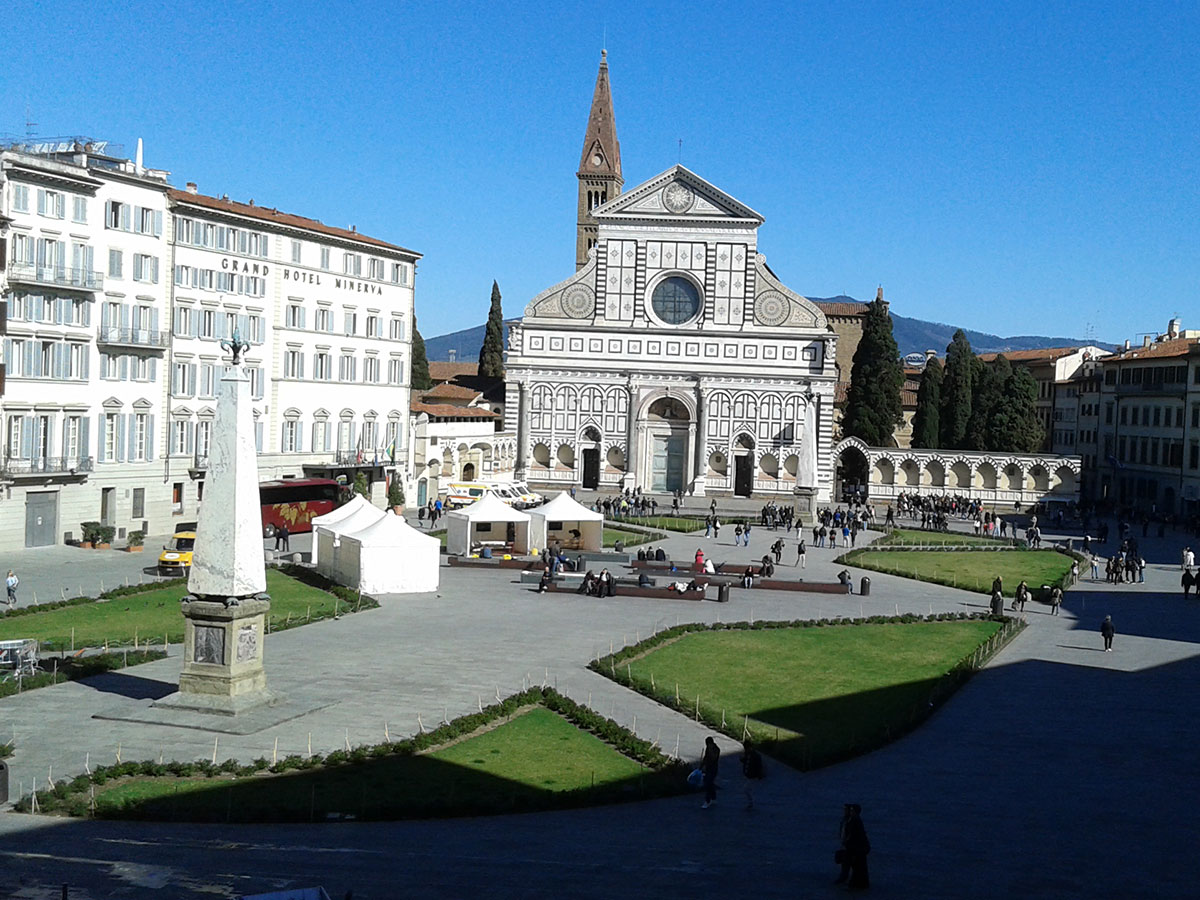 Church of Santa Maria Novella and Church of Santa Croce