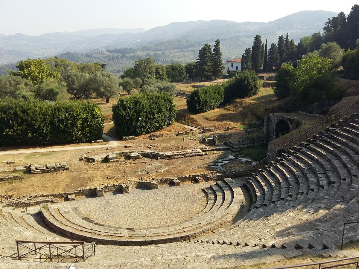 Fiesole etrusca y romana