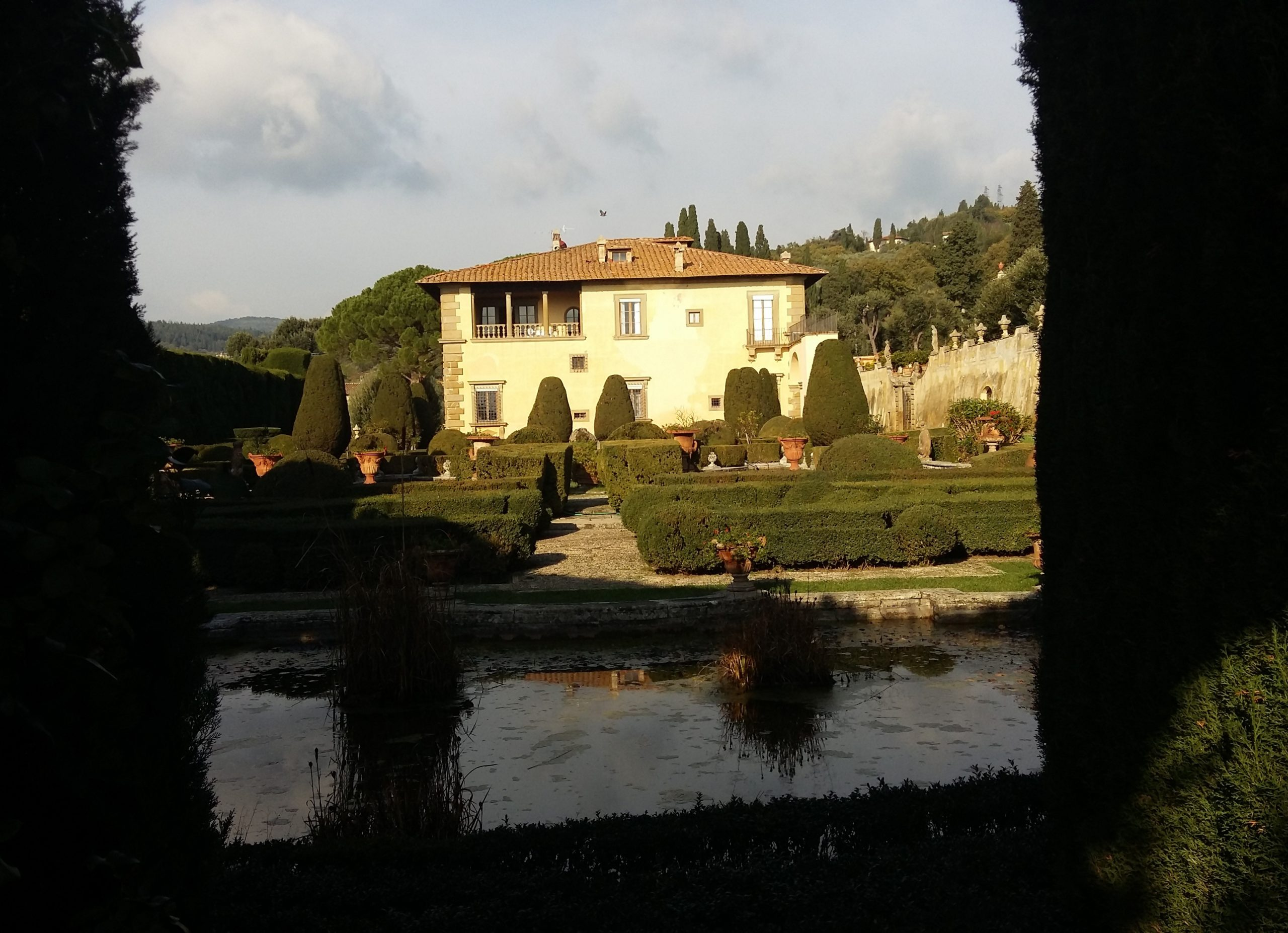Settignano and Villa Gamberaia