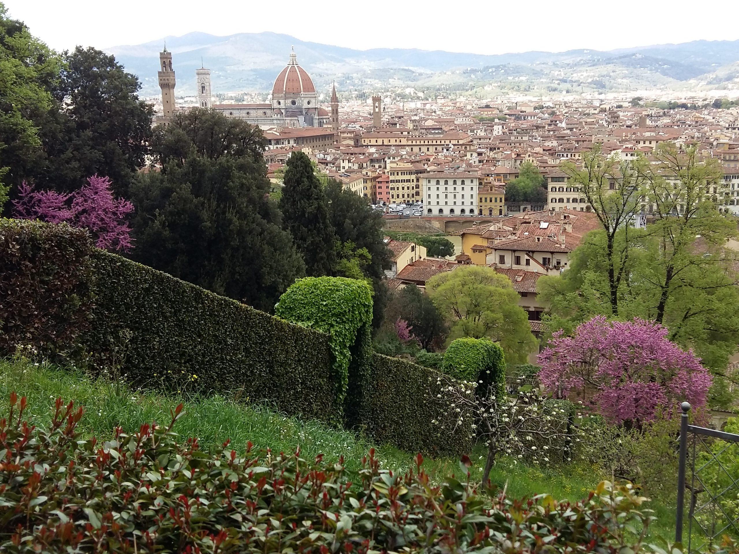 Vista dal Giardino Bardini