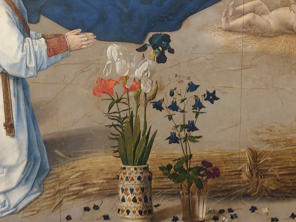Adorazione dei Pastori di Hugo Van der Goes