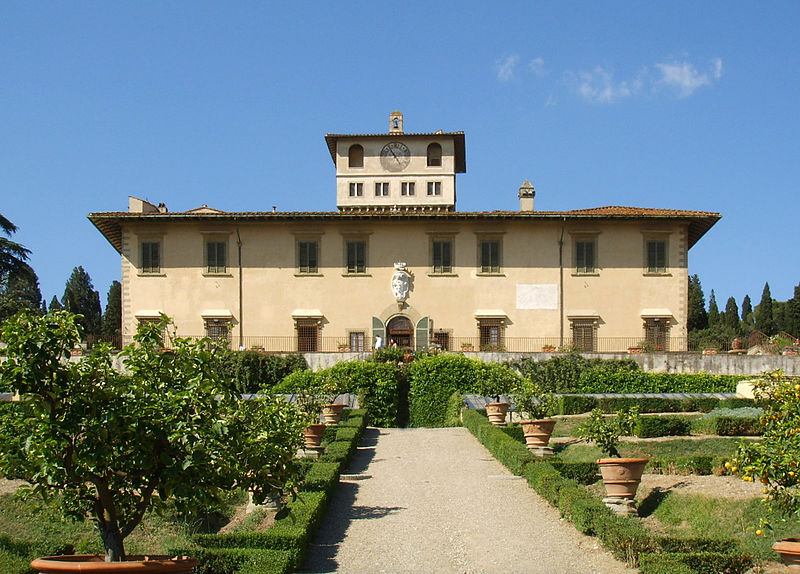 Medici Gardens: Petraia and Castello