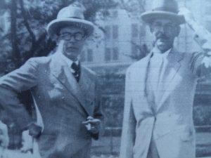 Geoffrey Scott and Cecil Pinsent
